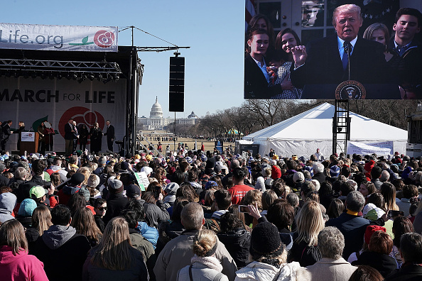 Washington DC「Annual March For Life Rally Winds Through Washington DC」:写真・画像(19)[壁紙.com]