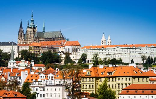 Hradcany Castle「Saint Vitus Cathedral in Prague」:スマホ壁紙(19)