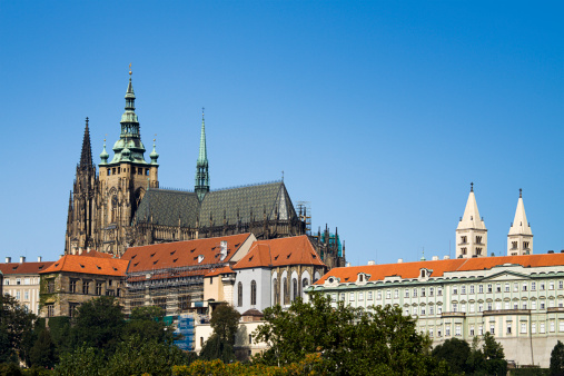 St Vitus's Cathedral「Saint Vitus Cathedral in Prague」:スマホ壁紙(0)