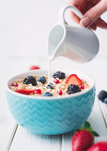 Granola「Muesli with Fruit and Milk」:スマホ壁紙(15)