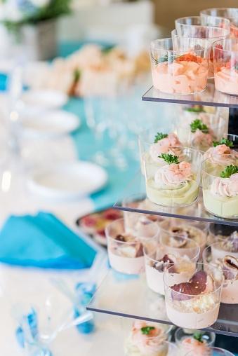France「Healthy appetizer at luxury wedding」:スマホ壁紙(11)