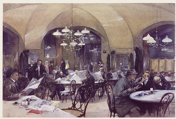 Coffee Table「The coffee house Griensteidl in Vienna」:写真・画像(19)[壁紙.com]