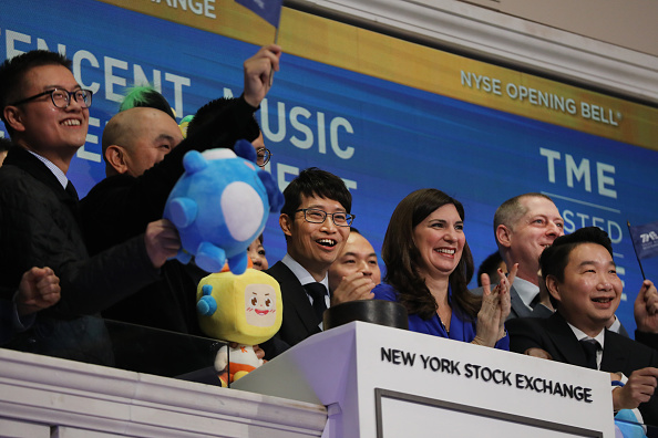 Music「Chinese Music Entertainment Company Tencent Music Entertainment Group Debuts On New York Stock Exchange」:写真・画像(12)[壁紙.com]