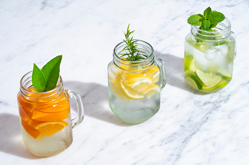 Mint Leaf - Culinary「Citrus infused water non alcohol cocktails with orange, lemon and lime」:スマホ壁紙(18)
