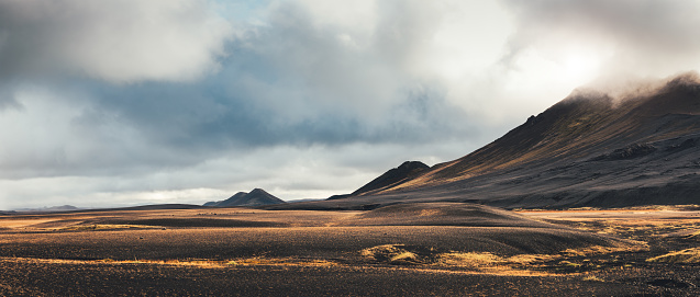 National Park「Dramatic Landscape In Iceland」:スマホ壁紙(14)