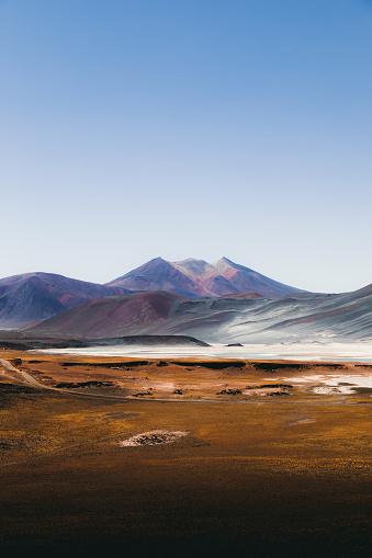 Volcano「Dramatic landscape of Atacama desert」:スマホ壁紙(7)