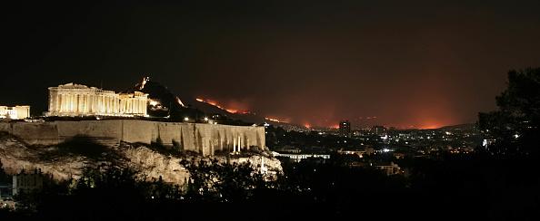 Greece「Wildfires Rage In Athens」:写真・画像(19)[壁紙.com]