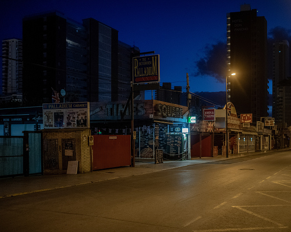 Benidorm「Benidorm Nightlife Remains Dormant After Spain's Coronavirus Shutdown」:写真・画像(8)[壁紙.com]