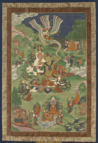 Tanka「Thangka With Scenes From The Life Of The Buddha」:写真・画像(3)[壁紙.com]