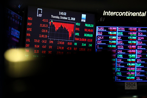 Drew Angerer「Stock Markets Continue To Take Dive Downward」:写真・画像(4)[壁紙.com]