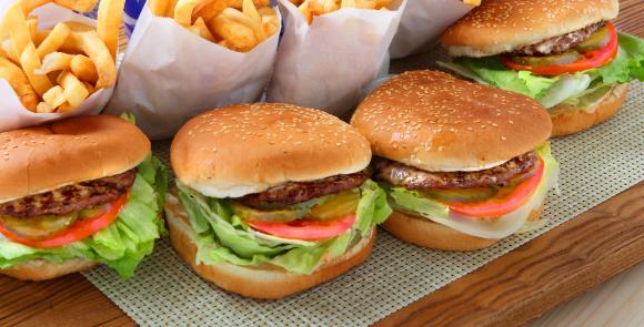 Fast Food「Hamburgers」:スマホ壁紙(13)