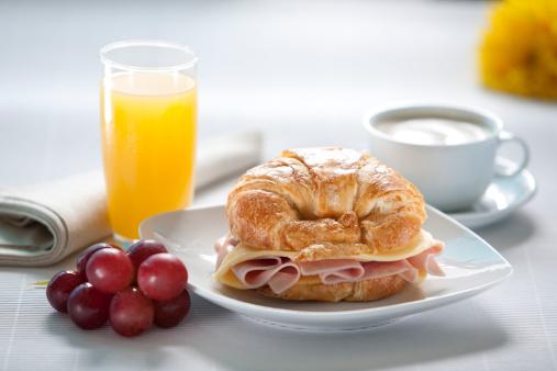 Breakfast「Croissant breakfast」:スマホ壁紙(6)