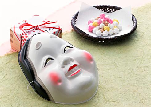 Setsubun「Mask and Sweets」:スマホ壁紙(19)