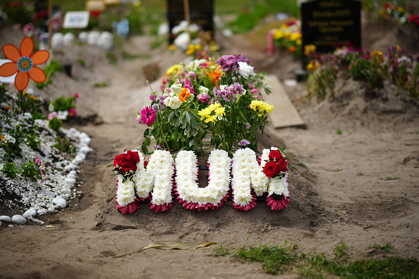 Bestof「Floral Tributes At The Southern Cemetery In Manchester」:写真・画像(4)[壁紙.com]