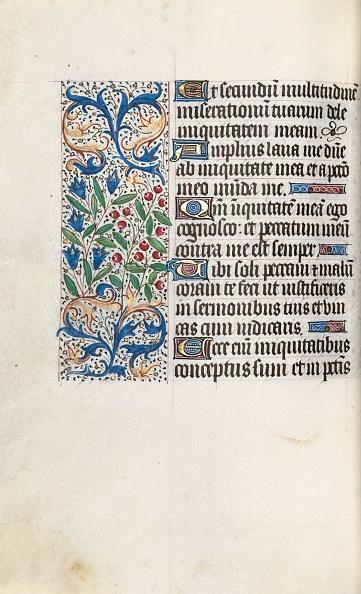 Manuscript「Book Of Hours (Use Of Rouen): Fol. 85V」:写真・画像(18)[壁紙.com]