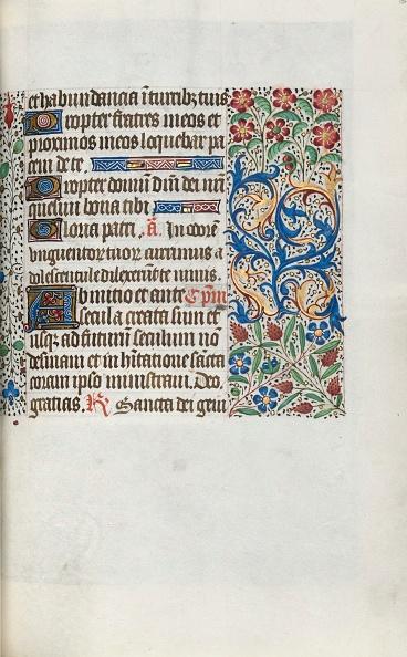 Manuscript「Book Of Hours (Use Of Rouen): Fol. 63R」:写真・画像(16)[壁紙.com]