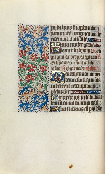 Manuscript「Book Of Hours (Use Of Rouen): Fol. 47V」:写真・画像(15)[壁紙.com]