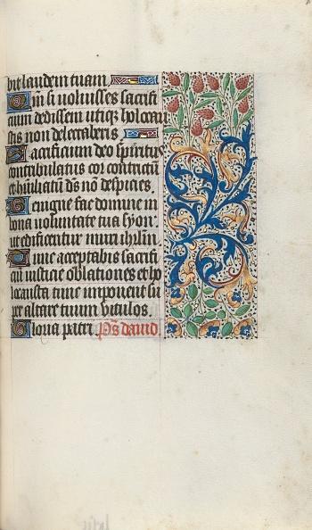 Manuscript「Book Of Hours (Use Of Rouen): Fol. 87R」:写真・画像(19)[壁紙.com]