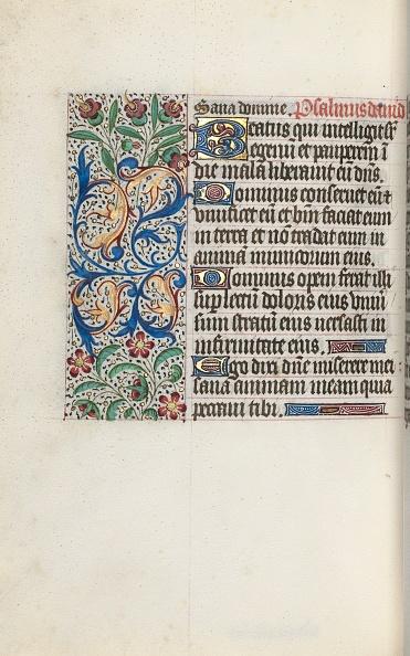Tempera Painting「Book Of Hours (Use Of Rouen): Fol. 127V」:写真・画像(19)[壁紙.com]