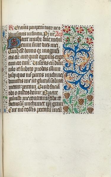 Manuscript「Book Of Hours (Use Of Rouen): Fol. 115R」:写真・画像(5)[壁紙.com]