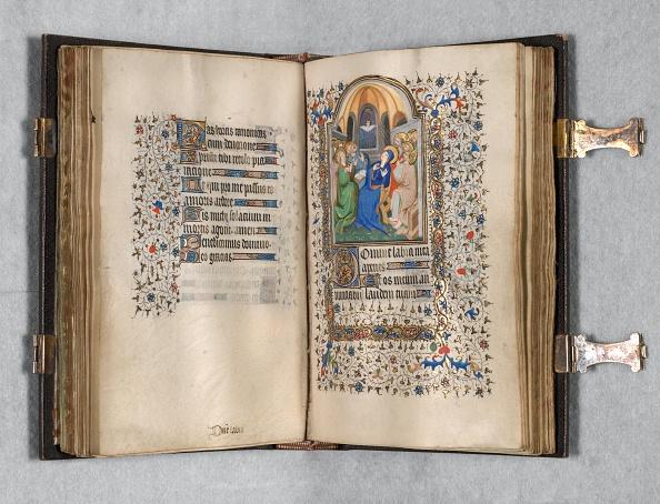 Tempera Painting「Book Of Hours (Use Of Paris): Fol. 108R」:写真・画像(13)[壁紙.com]