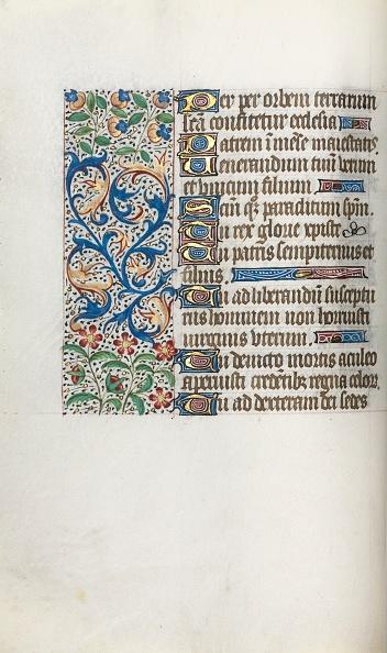 Manuscript「Book Of Hours (Use Of Rouen): Fol. 37V」:写真・画像(11)[壁紙.com]