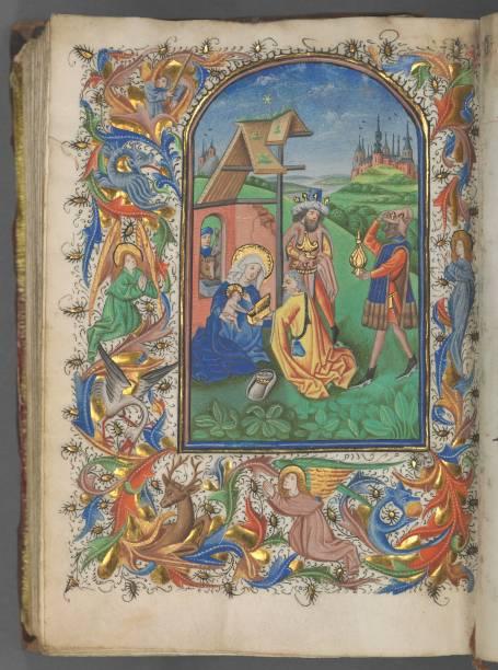 Book Of Hours (Use Of Utrecht): Fol. 221V:ニュース(壁紙.com)