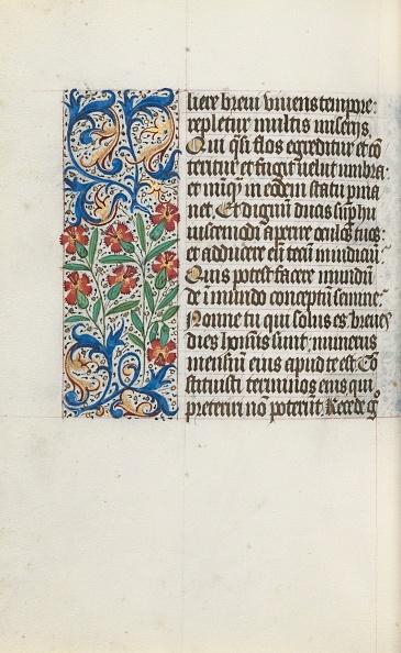 Manuscript「Book Of Hours (Use Of Rouen): Fol. 123V」:写真・画像(8)[壁紙.com]