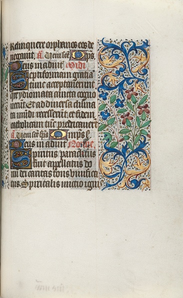 Tempera Painting「Book Of Hours (Use Of Rouen): Fol. 101R」:写真・画像(14)[壁紙.com]