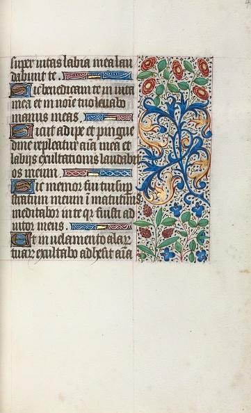 Manuscript「Book Of Hours (Use Of Rouen): Fol. 40R」:写真・画像(13)[壁紙.com]
