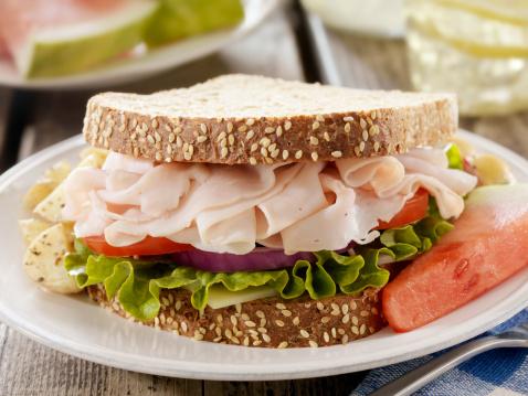Lemon Soda「Turkey Sandwich at a Picnic」:スマホ壁紙(3)