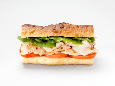 Loaf of Bread「Turkey Sandwich on a Baguette」:スマホ壁紙(19)