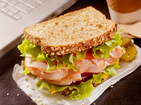 Toasted Food「Turkey Sandwich at your Desk」:スマホ壁紙(11)