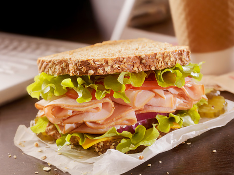 Lunch「Turkey Sandwich at your Desk」:スマホ壁紙(8)