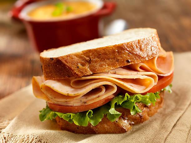 Turkey Sandwich and Tomato Soup:スマホ壁紙(壁紙.com)