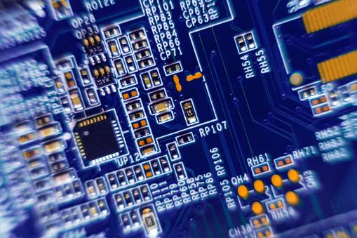 CPU「Blue circuit board」:スマホ壁紙(18)