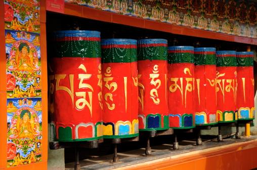 Himachal Pradesh「Namgyaima  Stupa temple,McLeodganj,Dharamsala,Himachal Pradesh,India.」:スマホ壁紙(15)