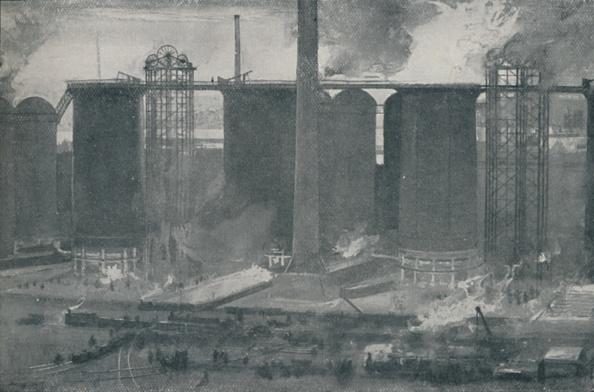 Industry「Blast-Furnaces At Bell Bros Iron Works」:写真・画像(12)[壁紙.com]