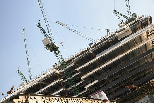 Slanted「Offices under construction, City of London, UK」:写真・画像(10)[壁紙.com]