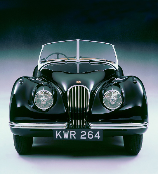 Vintage Car「1950 Jaguar XK120」:写真・画像(17)[壁紙.com]