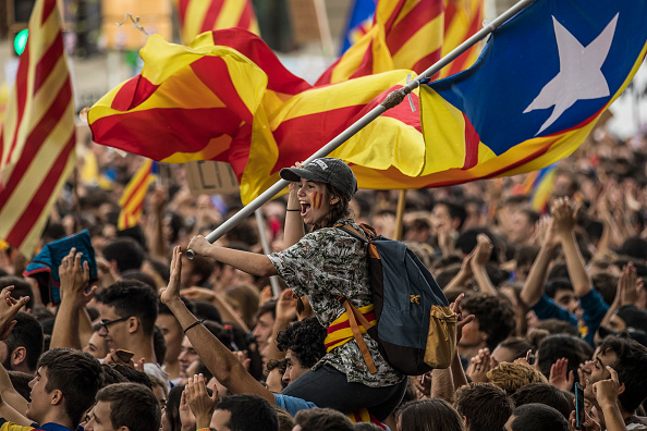 Referendum「Preparations Are Made Leading Up To The Catalan Independence Referendum」:写真・画像(18)[壁紙.com]