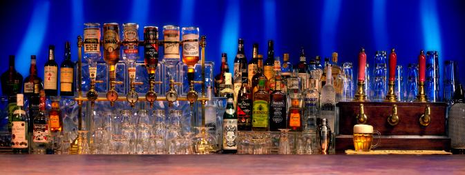 Choosing「Bar with various alcoholic beverages」:スマホ壁紙(10)