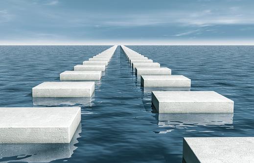 Success「Stepping Stones In Sea」:スマホ壁紙(7)