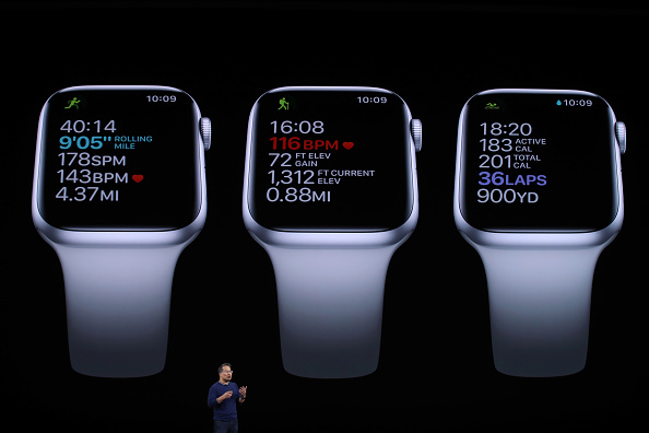 Apple Watch「Apple Unveils New Product Updates At Its Cupertino Headquarters」:写真・画像(19)[壁紙.com]