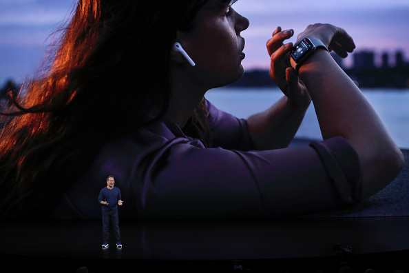 Apple Watch「Apple Unveils New Product Updates At Its Cupertino Headquarters」:写真・画像(17)[壁紙.com]