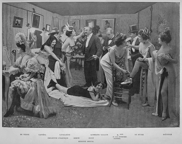 1900-1909「Ces Dames Samusent,」:写真・画像(10)[壁紙.com]
