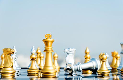 Battle「The silver king lying on the board」:スマホ壁紙(9)