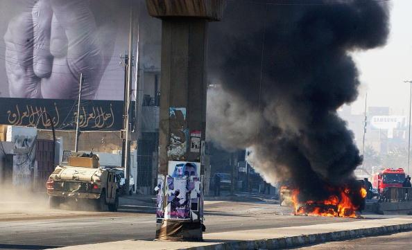 Baghdad「Roadside Bomb Attack Targets U.S. Convoy In Baghdad」:写真・画像(19)[壁紙.com]