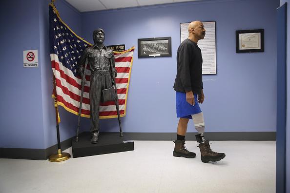 Disability「VA Hospital Provides Amputees With Prosthetics And Adaptive Sports」:写真・画像(4)[壁紙.com]