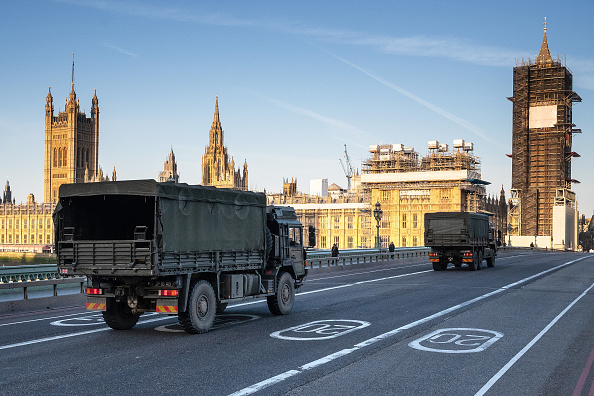 London - England「UK On Lockdown Due To Coronavirus Pandemic」:写真・画像(14)[壁紙.com]